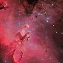 M16, The Eagle Nebula (4 panels mosaic),                                Ruben Barbosa