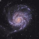 M 101 - The Pinwheel Galaxy,                                Tim