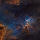 starless melotte 15 / heart nebula,                                pfile