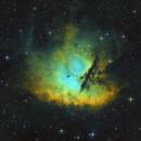 NGC 281 - Pacman Nebula - HST Palette,                                Jonas Illner