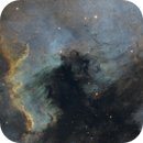NGC7000 the north America nebula,                                Vincent F