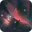 Horsehead and Flame Nebula,                                Chris Bulik