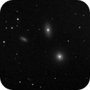 M105 Galaxy Group - 20200422 - Meade 2045D at F4,                                altazastro