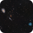 NGC 4725 and Friends,                                Yizhou Zhang