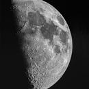 Lune gibbeuse croissante,                                Alain L'ECOLIER