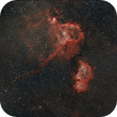 Heart and Soul Nebula,                                AstroJoeHSV