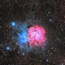 M20 Trifid Nebula,                                Copernicus