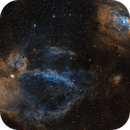 The Lobster Claw and Bubble Nebulae in SHO,                                Alex Roberts