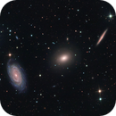 NGC 5981, 5982, 5985   The Draco Triplet,                                Kevin Morefield