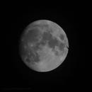 moon with airplane - gif,                                Peter Schmitz