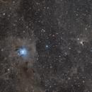 Ngc 7023 & Vdb141-nébuleuse de l'iris et du fantôme,                                astromat89