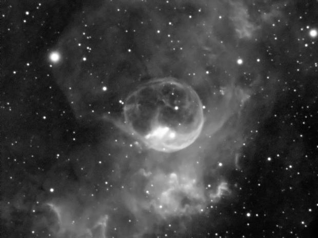 NGC 7635 - Nebulosa Bolla,                                StefanoBertacco