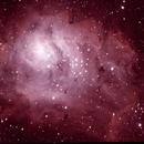 Lagoon Nebula,                                Stewart