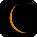 Seven Minutes before Totality!,                                Damien Cannane