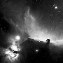 Horsehead Nebula in Ha,                                Roger Gifkins