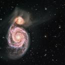 Galactic cannibalism of M51,                                Benoit Blanco