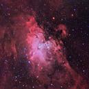M16 - The Eagle Nebula in Serpens,                                CrestwoodSky