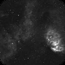 Tulip Nebula in Hydrogen-alpha,                                Barczynski