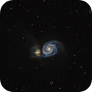 M51 - The Whirlpool Nebula - my second (frustrating) attempt,                                Patrick Cosgrove