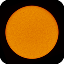 Sun with a few small filaments on April 13,                                Chappel Astro