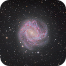 M83 Southern Pinwheel Galaxy, L+RGB,                                tjm8874