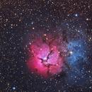 Trifid Nebula,                                wannaberocker_x