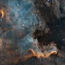 NGC 7000 SHO,                                Giulio