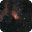 SH2-101_Ha-RGB,                                Bernard DELATTRE