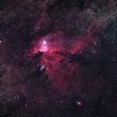 NGC 6188 - DSLR,                                Valerio Tettamanti