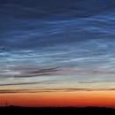 Noctilucent clouds (NLC) - 17.06.2019,                                Łukasz Sujka
