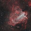 M17 Omega nebula,                                Verio