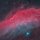 NGC1499 California nebula narrowband false color,                                Marco Favro