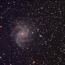 Fireworks Galaxy with Starizona Night Owl reducer,                                Robin Clark - EAA imager