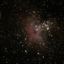M-15 Eagle Nebula,                                Nick J