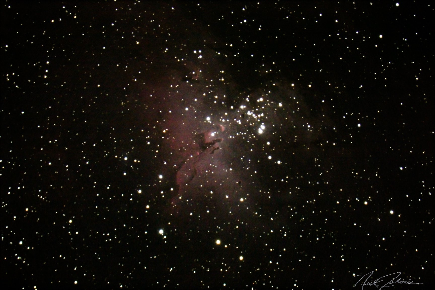 M-15 Eagle Nebula,                                Nick J