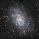 M33 LRGB,                                Ric Soard