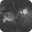 Wide field M42 & IC434,                                S. DAVID