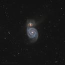 Whirlpool Galaxy,                                Ivan Maklyakov