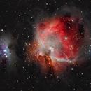 Messier 42 and Running Man,                                MRPryor