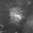 NGC 7635 Widefield in Ha,                                Alan Hancox