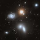 NGC5371 and Hickson 68 group NGC5353, NGC5354 and NGC5371,                                Riedl Rudolf