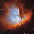 NGC 291 - Pacman in bicolor,                                Lars Stephan