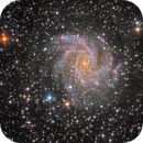 NGC 6945 (Fireworks Galaxy) @ DSW,                                Miles Zhou
