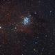 NGC 3293 Cluster @ Full Moon :-),                                Daniel Nobre