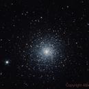 M15 Globular Cluster ,                                Alberto Pisabarro