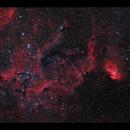 Tulip Nebula Sh2-101 HaRGB with RASA 8,                                Göran Nilsson