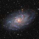 M33 Galaxy composition,                                Giovanni Paglioli