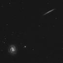 NGC 3501 and NGC 3507 in RGB,                                Uwe Deutermann
