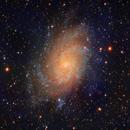 Messier 33, Triangulum Galaxy,                                rveregin