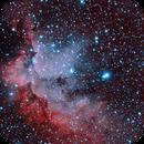 NGC 7380 - Wizard Nebula,                                Patrick Poirier